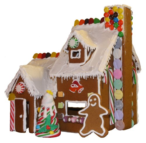 Photo of the gingerbread house